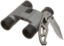 Brunton Litetech Binocular and Gerber Paraframe Knife Combo