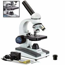 AmScope  M150C-I 40X-1000X All-Metal Optical Glass Lenses Co