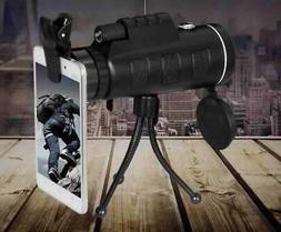 Military HD 40X60 monocular Professional Hunting Telescope Z