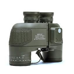 USCAMEL 10x50 Military Waterproof HD Binoculars with Rangefi