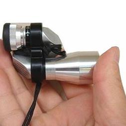 MASIN HD Mini Pocket 8×20 Silver Metal Monocular Telescope
