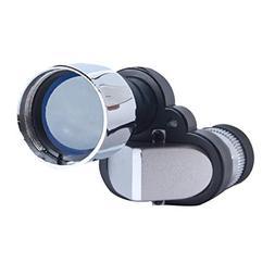 Aelove Mini Portable Silver Metal Eyepiece Telescope Pocket