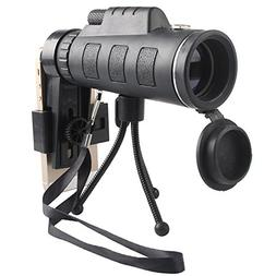 EDTara Outdoor Sports Mini 40x60 Telescope with Compass Low