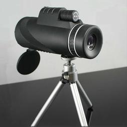 Monocular 40x60 Binoculars Zoom Handheld Telescope HD Profes