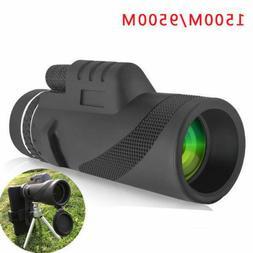 Monocular 40x60 Powerful Binoculars Zoom Glasses Handheld Te