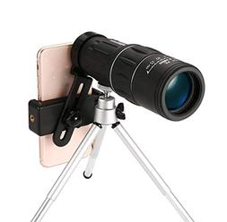 HXZB 16X52 Monocular Mobile Phone Photo Clip High-Definition