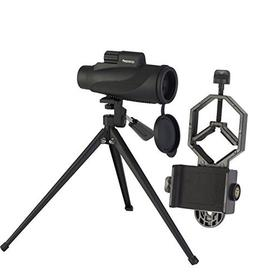 Monocular Spotting Scope Kit | Compact, Non-Slip & Waterproo