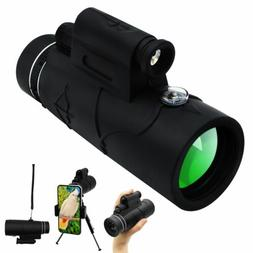 Monocular Starscope Phone Camera Zoom Lense+Tripod Bag Phone