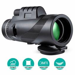 Monocular Telescope 10x42 Portable High Power Monocular for