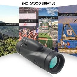 Monocular Telescope 12x50 HD Dual Focus Waterproof Monocular