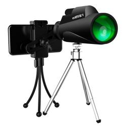 Monocular Telescope, 12x50 HD Waterproof High Power Spotting