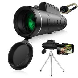 Monocular Telescope 12x50 High Powered Waterproof Wide View