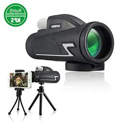 OUTERDO Monocular Telescope, 10 x 42 High Power Monoculars f