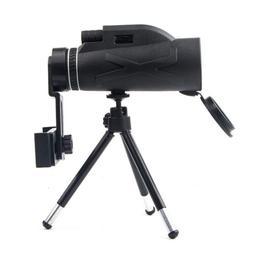 Monocular Telescope 80x100 BAK4 Prism HD Waterproof with Tri