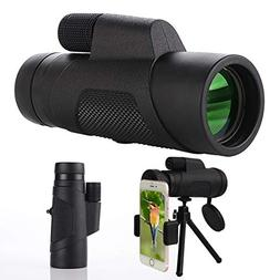 Monocular Telescope, 10X42 High-Definition Water-Proof,Fog-P