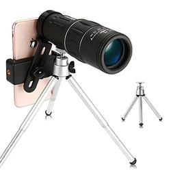 16x52 Monocular Telescope, Urbetter Day & Night Vision Monoc
