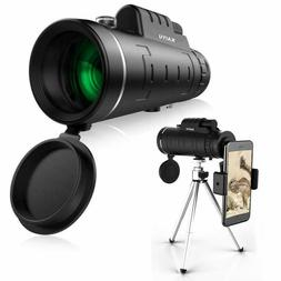 Monocular Telescope for Adult Newest High Power 12x50 Compac
