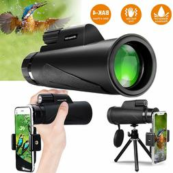 Monocular Telescope for Adult - Newest High Power 12x50 Comp