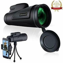 Monocular Telescope High Power 12x50 Monoculars Scope with Q