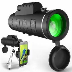 Monocular Telescope, High Power Monocular Scope Waterproof M