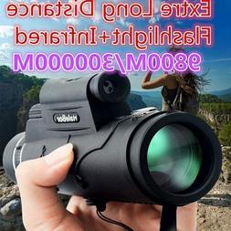 Monocular Telescope Laser Outdoor Hiking Travel Portable Tel