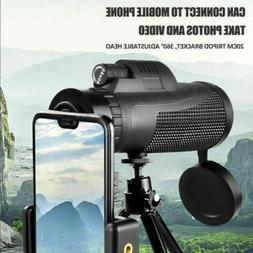 Monocular Telescope Phone Camera Zoom Starscope Hiking Hunti