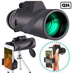 Monocular Telescope High Power 40×60 Compact Portable Monoc