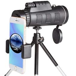 Monocular Telescope Scope, BYZL High Power Monocular Scope W