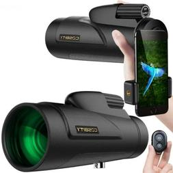 COSBITY Monocular Telescopes, 12x50 High Power Scope for Adu