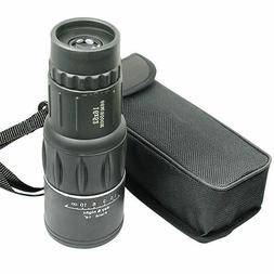 16X52 Monocular Zoom Dual Focus Rubber Armored Telescope for