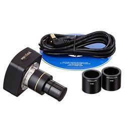 AmScope MU1000A 10 MP Still & Live Image Microscope Digital
