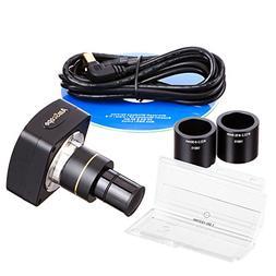 AmScope 3.0 MP USB2.0 Microscope Digital Camera + Calibratio
