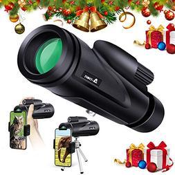 N-Life Monocular Telescope 12x50 Ideal Gift High Powered BAK