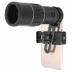 new 16x52 waterproof high definition monocular telescope