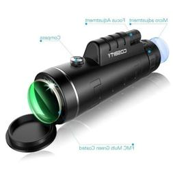 New Cosbity High Power Telescope Monocular Scope-12x50 Dual