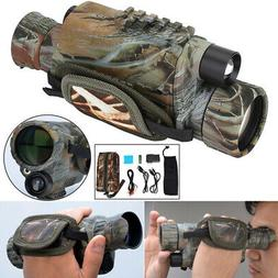 New Infrared Dark Night Vision Monocular Binoculars Telescop