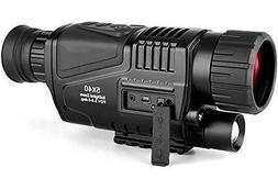 Night Vision infrared digital video camera 5x40 Monocular Hu