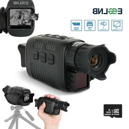 "Night Vision Monocular 1.5"" LCD 820ft Digital Infrared NVG P"