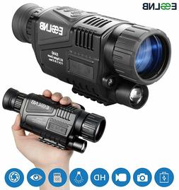 ESSLNB Night Vision Monocular 5X40 Night Vision Infrared IR