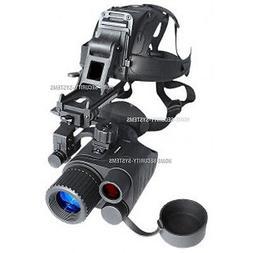 Night Vision Monocular  Head Mounted Kit IR Tracker Goggle S