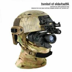 Night Vision Scope Monocular Binocular IR Hunting Helmet Tel