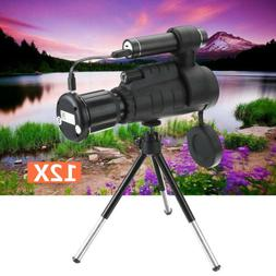 Monocular Telescope WIFI 12X 1080P HD Infrared IR Night Visi