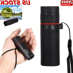 Portable 30x25 Mini Travel Telescope Tourism Scope Monocular