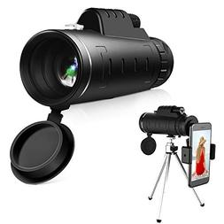 High Power Hd Monocular Telescope - 40×60 BAK4 Prism Monocu