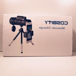 Monocular Telescopes, 12x50 Dual Focus Waterproof Spotting S