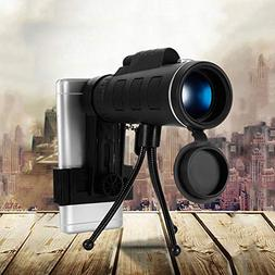 BEESCLOVER High Power 40X60 HD Monocular Telescope Shimmer N