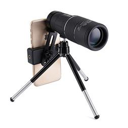 High Power Monocular Telescope,OUTERDO 10x40 Dual Focus BAK-