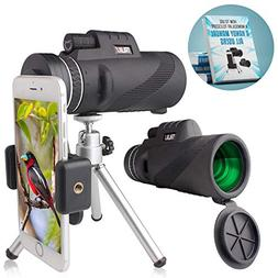 TRIJAX High Powered Monocular Telescope | Incredible Smartph