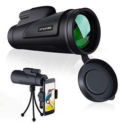 Siensync 12X50 High Powered Monocular Telescope Waterproof F