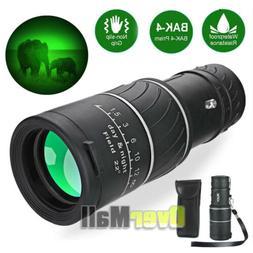 Professional BAK4 Telescope with Night Vision 40X60 Monocula